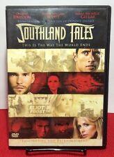 Southland Tales(DVD,2008)Free S&H-Dwayne The Rock Johnson,Sarah Michelle Gellar