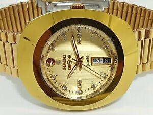 Rado Diastar Gold Plated Jubile Automatic 37MM Wrist Watch