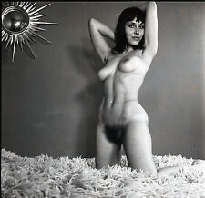 NU NUDE PHOTO FOTO 20x20CM REPRINT FROM ORIGINAL 1960's vintage neg 33
