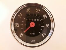 Speedometer 0 - 80 mph .VW. New Old Stock. Vintage Automotive Parts,Restoration