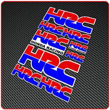 HONDA HRC RACING sticker decals set - cbf fireblade track
