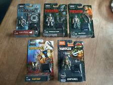 Mega Construx Heroes New Series [Predator, Claptrap, Dutch, Raphael, Kratos]