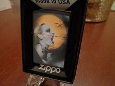 VAMPIRE LADY FULL MOON ZIPPO LIGHTER MINT IN BOX