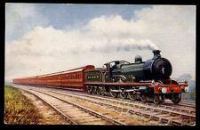 Railway G&SWR Corridor Express Tuck Oilette #9161 PPC 1914