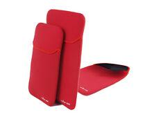 Samsung NC 10/ N 130 Neopren Tasche Netbook Tasche schwarz / rot Wende Sleeve
