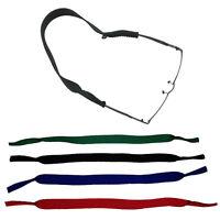 TOP | NEOPREN Sportband / Brillenband / Brillenkordel schwarz + 3 Farben | NEU