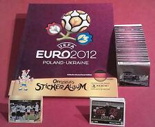 Panini komplett EM 2012 Hardcover Album deutsche Version Neuer D1 - D20 Euro 12
