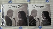 NEW SIGNED Donny And & Marie Osmond CD Rare Autograph