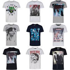 Camisetas de hombre de manga corta negro talla XXL