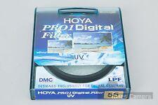 *BRAND NEW* Genuine HOYA 55mm UV (O) Pro1D Pro1 DMC Lens Filter UV