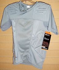 Shock Doctor 539Shockskin 5-Pad Short Sleeve Impact Shirt Mens XXXL GREY