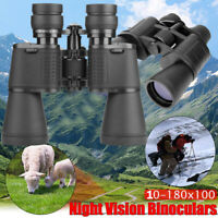 Day/Night Telescope 180x100 Military Army Zoom HD Binoculars Hunting Camping