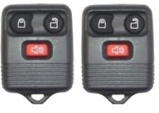PAIR BRAND NEW FORD 1998-2014 F-150 3 BUTTON KEYLESS REMOTE   (2-r01fx-dkr-30d)