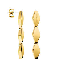 ck Calvin Klein Snake KJ5DJE100100 Damen Edelstahl Ohrhänger vergoldet neu