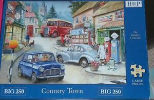 House of Puzzles HOP country town Big 250 XL Pcs Jigsaw New Sealed MC140