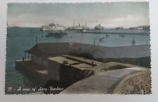 Vintage post card Postcard - View from Aden Harbour 2, Yemen, Middle East 1950's