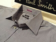 """PAUL SMITH Mens Shirt 🌍 Size 16.5"""" (CHEST 46"""") 🌎 RRP £95+ 🌏 SUPERBLY STRIPED"""