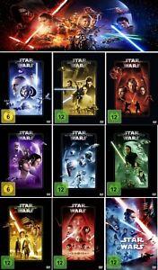 Star Wars 1 - 9 Komplett Paket       (I - IX)   Aufstieg Skywalkers   DVD   041