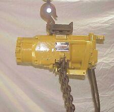 New Listingair Hoist Ir 15 Ton Hl1500 Pneumatic Chain Hoist 1 12 Ton 20 Ft Lift