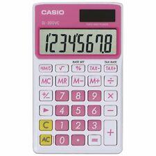 Casio SL-300-PK Sweet Pink Wallet Style Pocket Calculator, 8 Digit Display
