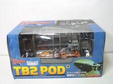 Takara Thunderbirds 2 TB-2 Pod 2 with TB4 and Recovery Vehicle 1/144 Scale NIB