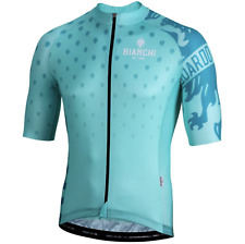 NEW Bianchi Milano Savignano Short Sleeve Jersey RRP£99.99 MEDIUM Celeste