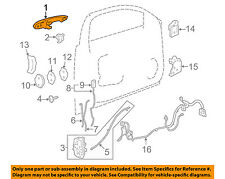 GM OEM-Outside Exterior Door Handle Left 25865676