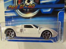 Hot Wheels Ford GT-40 #162 White
