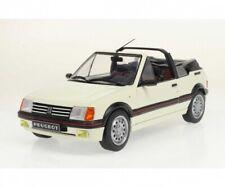 1 18 Solido Peugeot 205 CTI Convertible 1989 White