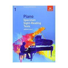 ABRSM Piano Specimen Sight Reading Tests, Grade 1 - Same Day P+P