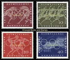 EBS Germany 1960 Rome Olympic Games Olympische Sommerspiele Michel 332-335 MNH**