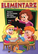 ELEMENTARZ TEKSTY + CWICZENIA CZ.1-2, - PAKIET, Pasja