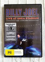 BILLY JOEL - LIVE AT SHEA STADIUM -THE CONCERT- DVD, R-ALL, LIKE NEW, FREE POST