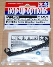 Tamiya 54908 M-08 Concept Carbon Body Mount Base (M08), NIP