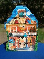 Halloween CANDY Container HAUNTED House PAPER Cardboard STARBUCKS