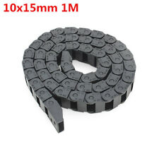 catena passa cavi Machifit10x 5mm Cable Drag Chain Wire Carrier Length 1000 mm