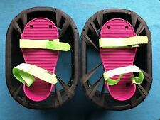 Vintage 1989 Moon Shoes by Hart Toys- Strap On Trampoline Shoes - Free Shipping!