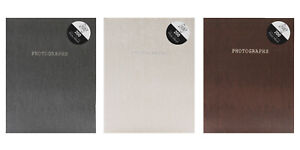 """6""""x4"""" or 7""""x5"""" Slip in Photo Albums Holds 200 Photos Assorted Colours"""