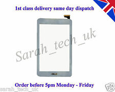 NUOVO ASUS MEMO PAD 7 me176 ME176CX ME176C Touch Screen Digitizer Glass Lens WHITE