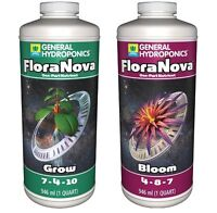 General Hydroponics FloraNova Series GROW & BLOOM Combos Avail. SAVE $ BAY HYDRO