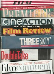 Various Miscellaneous Issues of Film & Cinema Publications & Magazines