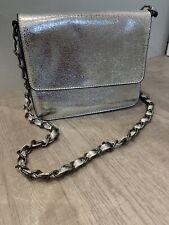 Next Handbag Silver