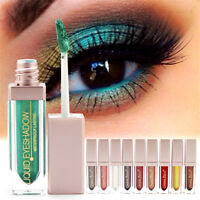 Metals Glitter Glow Eyeshadow Long lasting Liquid Eye Shadow Make Up Comestics
