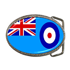 ROYAL AIR FORCE RAF FLAG REPRO BELT BUCKLE - GREAT GIFT ITEM