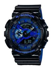 Casio G-Shock Black Blue Dial Alarm Chronograph Men Watch GA-110LPA-1AER RRP£140
