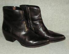 Frye 'Shane' Western Bootie womans Boot  Size 10 B  Black  MSRP $328