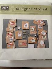Stampin' Up! Hip Hip Hooray Card Kit - Makes 20 Rubber Stamps Scrapbook Retired