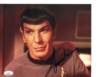 Rare Leonard Nimoy Hand Signed In Person Autographed Star Trek Spock JSA COA WoW