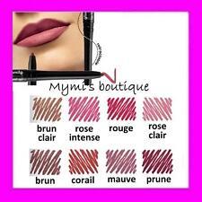 Lápiz delineador labios retráctil Avon resistente al agua moreno rosa rojo
