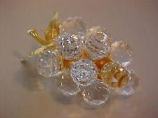 SWAROVSKI CRYSTAL USA LARGE GOLD GRAPES 7550NR030015 MINT BOXED RETIRED RARE